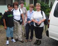 Trekkers set out